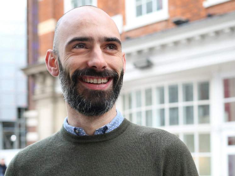 A headshot of LSE research candidate Joe Roussos